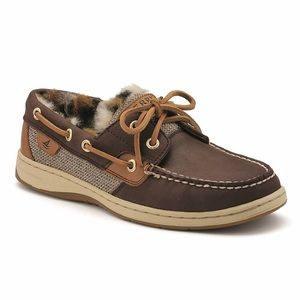 Sperry Top-Sider Bluefish Fur Lined Boat Shoes